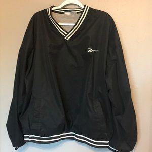 Reebok size XL pullover V neck windbreaker jacket